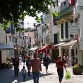 Calle peatonal en Saint-Jean de Luz