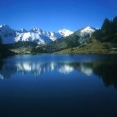Lago de Bastan en la Reserva de Néouvielle