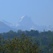 Pic du Midi d'Ossau depuis Pau