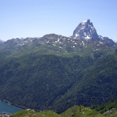 Artouste and the Pic du Midi d'Ossau