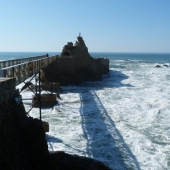 The rock of the virgin - Biarritz