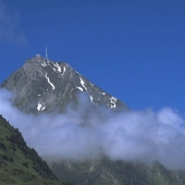 The Pic du Midi de Bigorre in summer