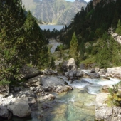 Lake and valley of Gaube
