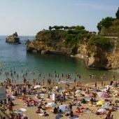 The rock of the Virgin - Biarritz