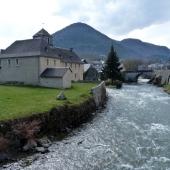 Arreau and the Nestes River
