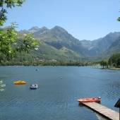 Lake of Génos-Loudenvielle