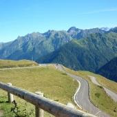 Road near Superbagnères