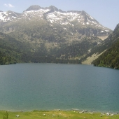 Aubert lake in the Néouvielle Reserve