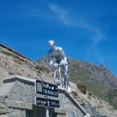 The pass of the Tourmalet