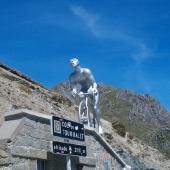 The Tourmalet pass